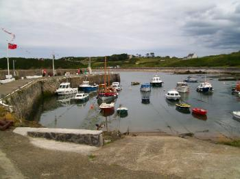 Cemaes Bay harbour