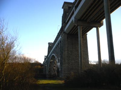 Robert Stephenson's Britannia Bridge