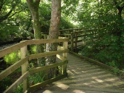 www.anglesey-hidden-gem.com Llangefni Dingle Boardwalk