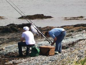 Shore Fishing at Cemlyn Bay - Anglesey Hidden Gem