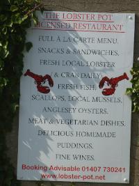 Church Bay Lobster  Pot