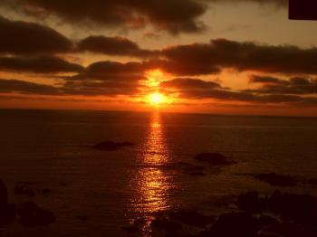 Church Bay Anglesey Sunset