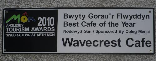 The wonderful Wavecrest Cafe at Church Bay on Anglesey's North West Coast - Anglesey Hidden Gem