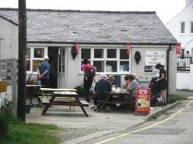 Wavecrest Cafe Church Bay Anglesey Beach