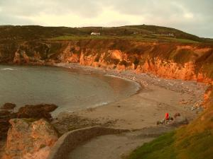 Golden Church Bay Evening