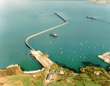 Holyhead Break From The Air