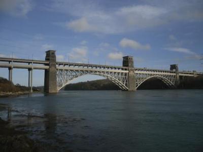 Britannia Bridge - Menai Straits Anglesey