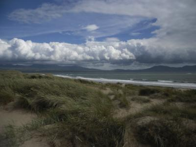 Llanddwyn Beach toward Abermenai Point on Anglesey