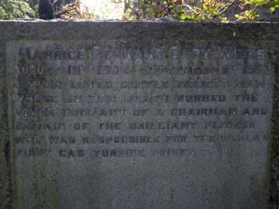 Llanfair yn y Cwmwd Church - MAURICE FERDNAND CARY WILKS
