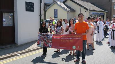 Llangefni Carnival 2018 - Confucius Institute at Bangor University
