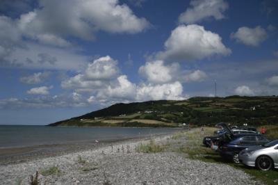 Llanddona Beach from Wern y Wylan