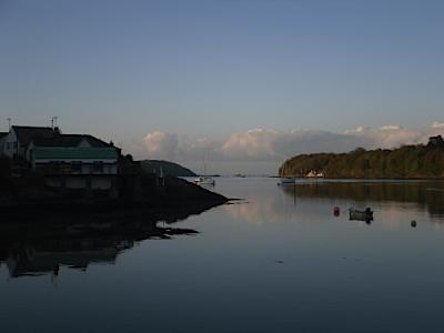 A lovely evening on the Menai Straits.  Anglesey Hidden Gem