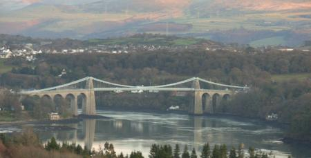 Thomas Telford's Menai Suspension Bridge
