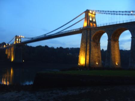 Menia Bridge - Thomas Telford's Suspension Bridge