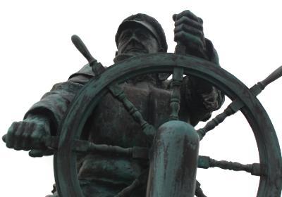 Moelfre Lifeboat Coxswain Richard (Dic)  Evans