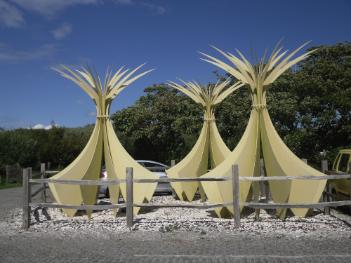 Newborough Marram Grass Mat Makers Sculpture