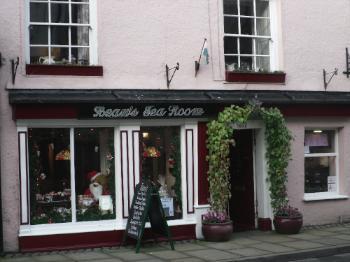 The brilliant Beau's Tea Rooms in Beaumaris