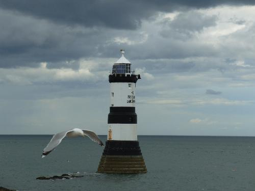 Penmon Lighthouse & Giant Seagull
