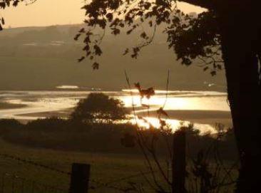 Dulas Lagoon near Traeth yr Ora Anglesey