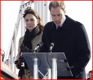 Prince William & Kate Middleton RNLI Trearddur Bay