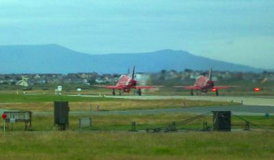 RAF Valley Red Arrows