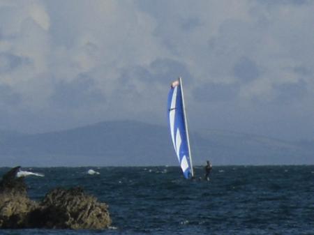 Rhoscolyn Sailing Boat