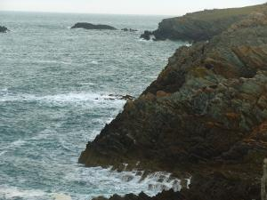Rhoscolyn Rising Cliffs