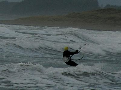 Anglesey Hidden Gem.com Winter Kitesurfing at Rhosneigr