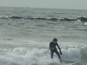 Broad Beach Surfer