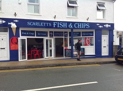 Anglesey-Hidden-Gem.com Scarlett's Fish & Chips Rhosneigr
