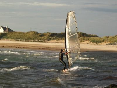 Windsurfing on Anglesey