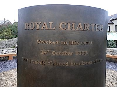 anglesey-hidden-gem.com - Sculpture to Royal Charter Maritime Disaster