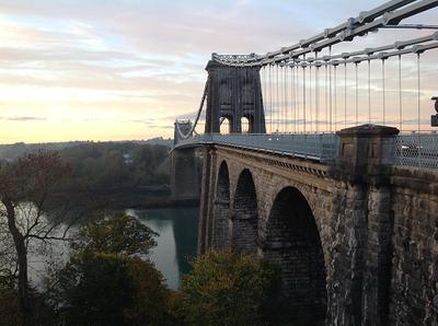Menai Bridge Thomas Telford's Suspension Bridge