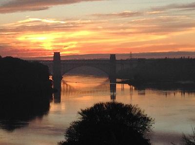 Menai Bridge Britannia Bridge