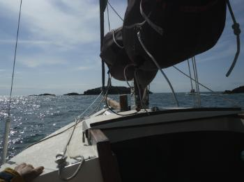 Sailing on  Anglesey