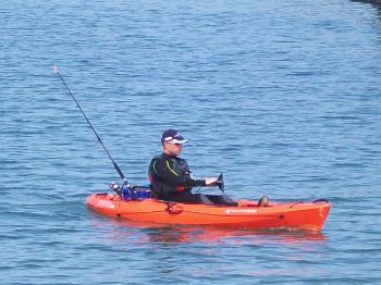 Cemlyn Bay, Kayak Fishing