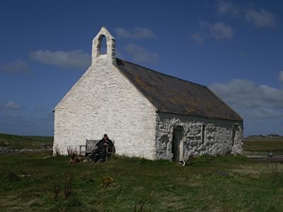 St Cwyfan's Church in the Sea Anglesey Hidden Gem