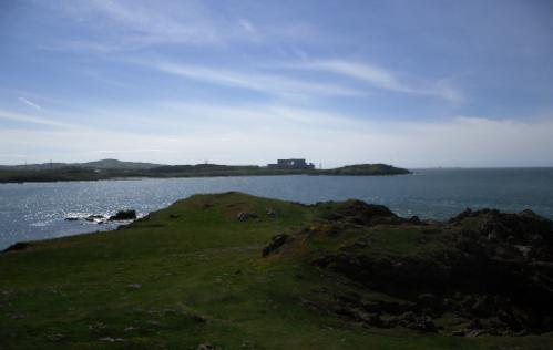 Wylfa from Llanbadrig Church, Cemaes Bay