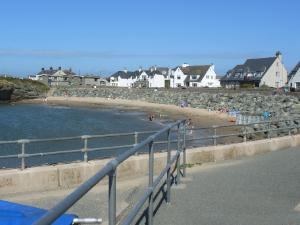 Porth Diana Beach at Trearddur Bay - Anglesey Hidden Gem