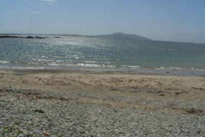 Trefadog Beach Holy Island View