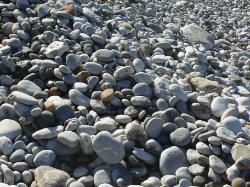 White Beach Pebbles