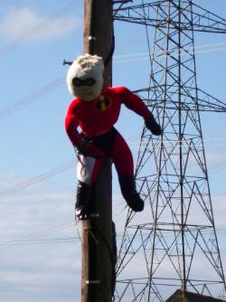 Anglesey Scarecrow - I-Man