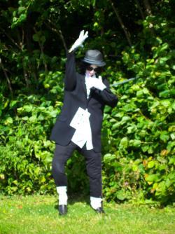 Anglesey Scarecrow Michael Jackson