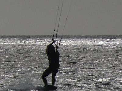 Anglesey Rhosneigr Kite Surfer