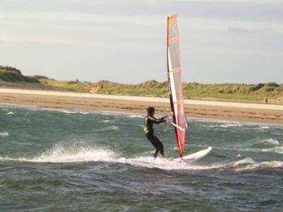 Windsurfing on Anglesey's Beautiful West Coast