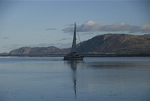 Moody Blues on the Menai Straits at Beaumaris Anglesey