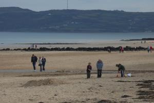 Bimbling on the beach