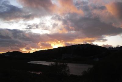 Bodafon Sunset - Anglesey