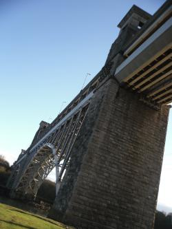 Robert Stephenson's Britannia Bridge