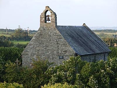 Llanbabo Church near Llyn Alaw